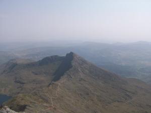 Scenery from the Rhyd-Ddu path